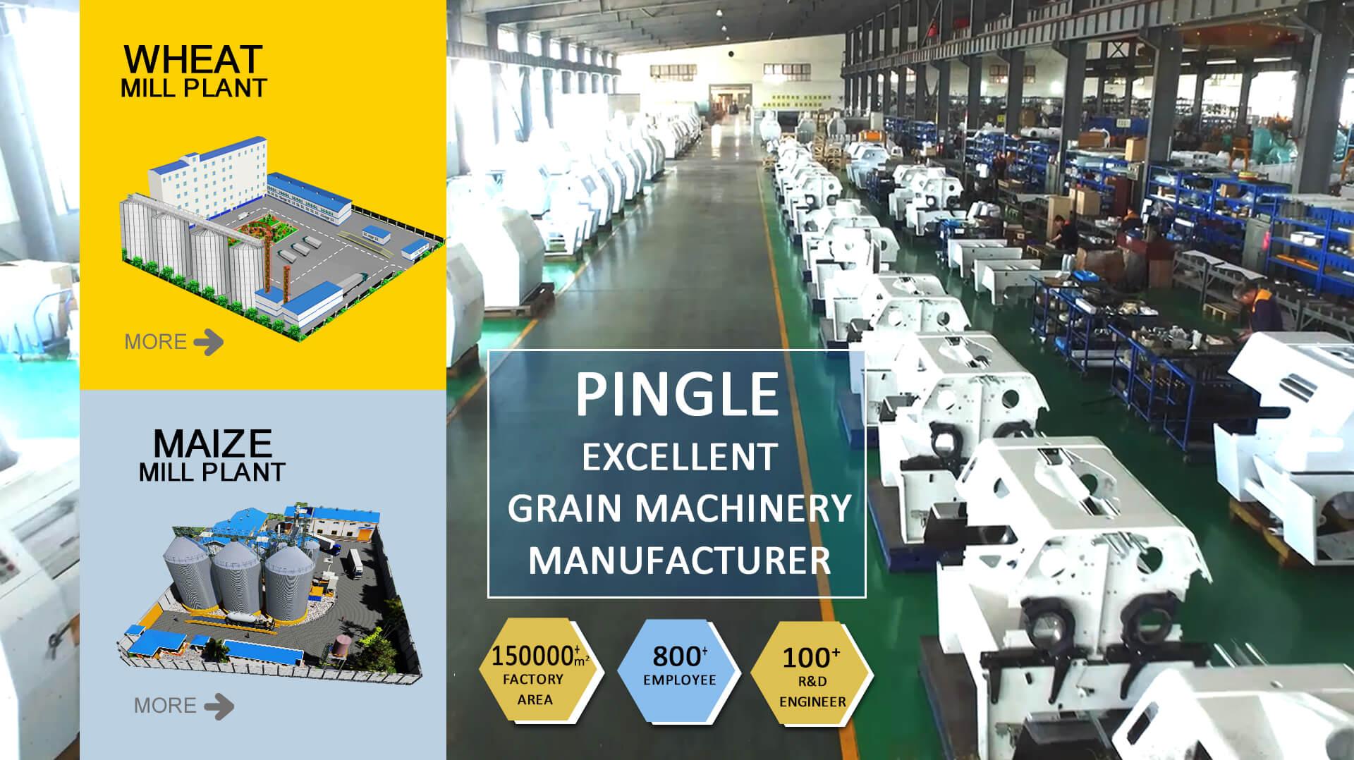 Pingle عالی دانه تولید کننده ماشین آلات