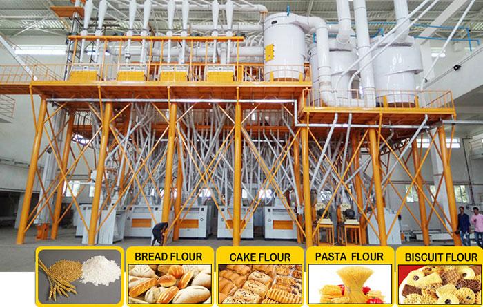 Wheat Milling Equipment