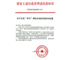 در سال 2005  پینگ عنوان برند مشهور چین را کسب کرده است