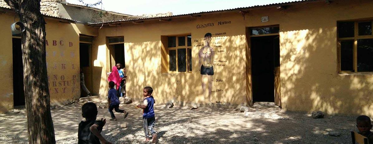 مدرسه ای برای روستا بسازید