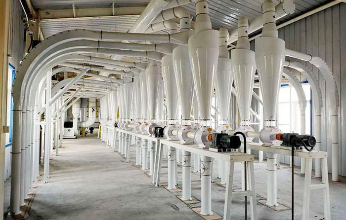 خط تولید با سازه فولادی ساختمانی