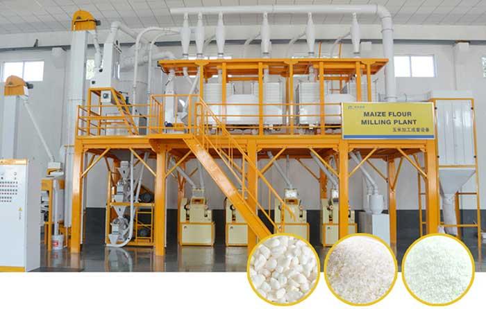 خط تولید آردسازی آسیابی