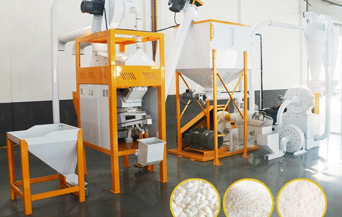 خط تولید آرد سازی کوبنده