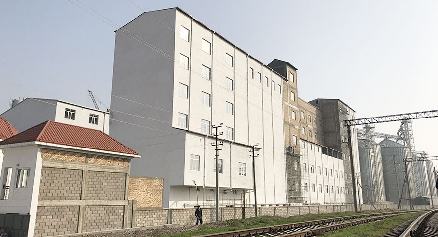 کارخانه آسیاب گندم تاجیکستان 600TPD