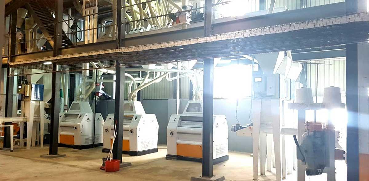 کارخانه فرز ذرت زیمبابوه 150TPD