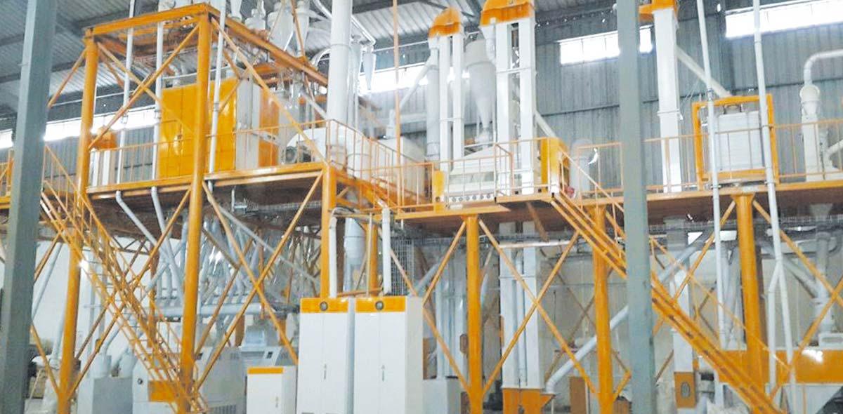 کارخانه فرز ذرت مالاوی 100TPD