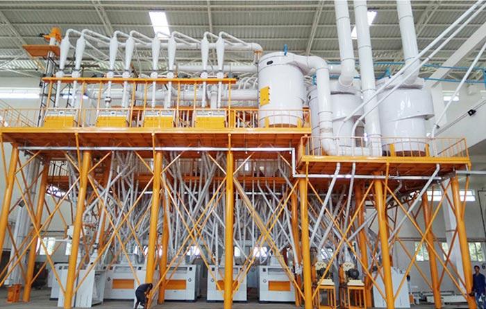 خط تولید با سازه های فولادی