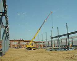 در سال 2012 آغاز ساخت پرژوه گسترش خط تولید دستگاه های فرآوری غلات